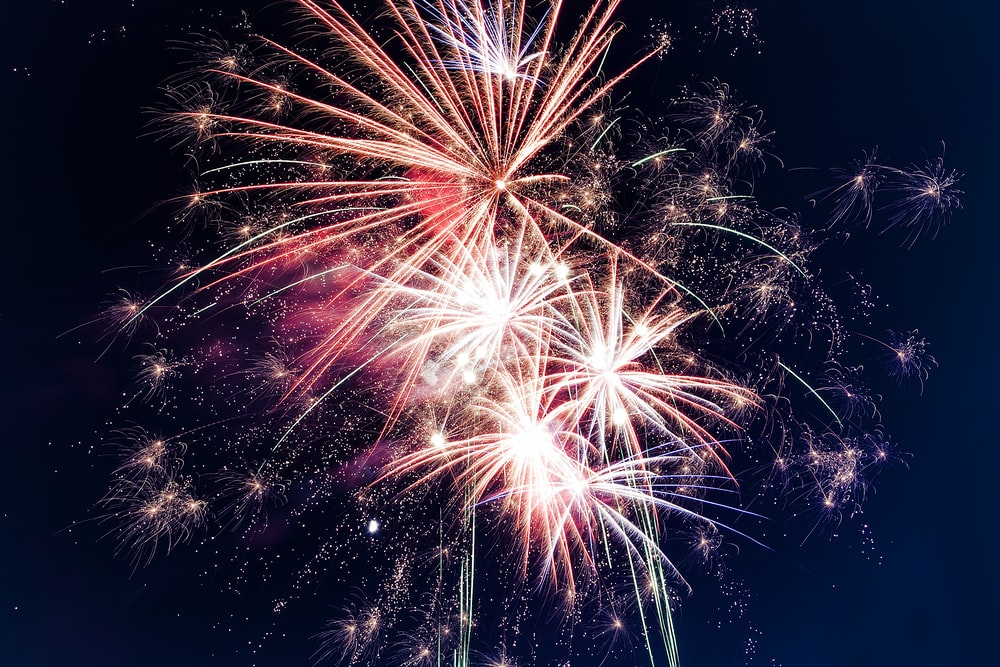 Fireworks at The Shell at Reed-Keppler Park June 8, 2019